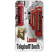 Telephone Booth Design Hard Case for Nokia N625