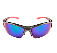 Sunglasses Men / Women / Unisex's Classic / Sports / Fashion / Sunglass Style Wrap Black Cycling Half-Rim