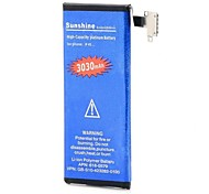 High Capacity 3.7V Nominal Capacity 3030mAh Li-ion Battery for IPHONE 4S