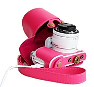 Dengpin Retro PU Leather Detachable Camera Protective Case Bag Cover for Samsung NX3000 with 16-50mm or 20-50mm Lens
