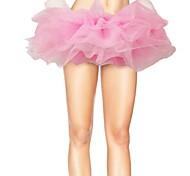 Tulle Bouffant Tutu Women's Burlesque Party Dance Club Skirt