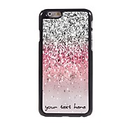 Personalized Phone Case - Shimmering Powder Design Metal Case for iPhone 6