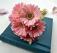 PU Chrysanthemum Fleurs artificielles