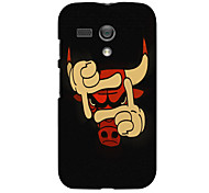 Cow Design Hard Case for Motorola MOTO G