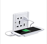 Creative Mobile Phone Charging Support Dual USB Multifunctional Two Or Three Inserted