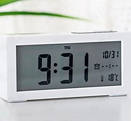 Creative Big Screen Adjustable Alarm Clock