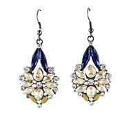 bijuterias atacado brincos de pedras preciosas de moda