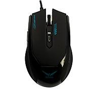 sw q-20 usb 1600dpi ratón para juegos