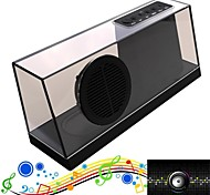 Newest Mini Portable Crysral Wireless Bluetooth Speaker Sardine Stereo Audio Sound  with Mic Fm Radio TF USB 1800mAh
