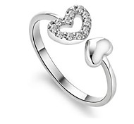 Loving personality double ring