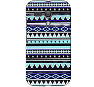 Triangle Pattern Hard Case for Motorola MOTO G