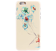 Girl with Balloon Design Hard Case for iPhone 6