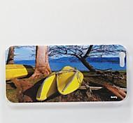 addly® eine hd Foto Blick auf das Meer auf einem PC harter Fall für iphone 6 gedruckt