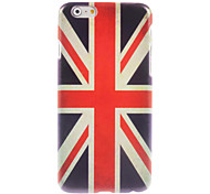 caso de design Union Jack duro para o iPhone 6