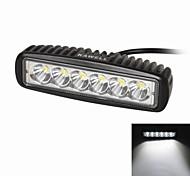 """kawell 18w 6.2 """"für atv / Boot / Geländewagen / LKW / PKW / Geländefahrzeuge geführt leuchten off road wasserdichte LED-Arbeitspunktlicht bar"""