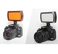 hy96 levou luz de vídeo 9W 850lm 5600k / 3200k regulável para a luz de vídeo da câmera DSLR (pilhas não incluídas)