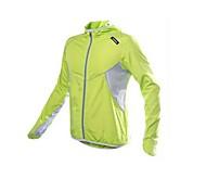 kingbike unisex otoño primavera anti-ultravioleta impermeable de nylon de manga larga chaqueta de ciclismo