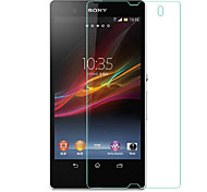 2.5D Rounded Edges Tempered Glass Film Screen Protector for SONY Xperia Z1 L39h  (0.3mm Thin,9H Hardness)