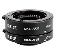 Meike MK-n-af3b enfoque automático AF extensión macro conjunto de tubo de 10 mm&16 mm para nikon cámaras micro dslr