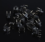 6x6x6mm Micro Switch Button Touch Switch Small Key-Press Switch(20Pcs)