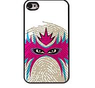 Face Design Aluminum Hard Case for iPhone 4/4S