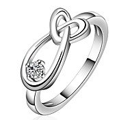 Classic Jewelry Women's Silver Alloy Statement Rings(1 Pc)
