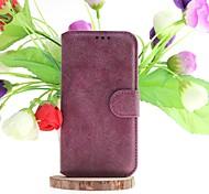 скучный польский подлинной кожаные чехлы для всего тела с подставкой и слот для карт памяти для Samsung i9600 s5