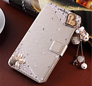 Wind-induced handmade diamond appearance flip phone sets are suitable for huawei  Ascend G6