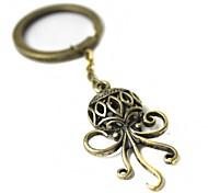 Retro Octopus Style Zinc Alloy Keychain