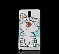 Katze Muster Hartschalenetui für Samsung Galaxy Note 3