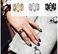 Fashion Hollow Five Stars Ring