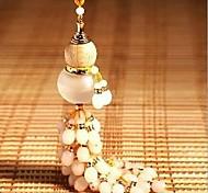 cristal de la calabaza de botella pequeño colgante
