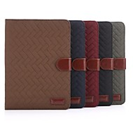 PU Leather Wallet Case with Stand and Card Slot for iPad mini 3