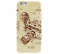 Vintage Camera Design Hard Case for iPhone 6