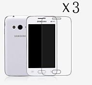 [3-Pack] High Transparency LCD Crystal Clear Screen Protector with Cleaning Cloth for Samsung Galaxy Ace4 NXT/G313H