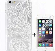 Fashion Design  Pattern Hard with Screen Protector Cover for iPhone 6
