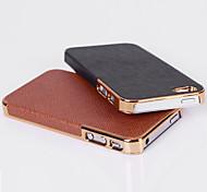 Für iPhone 5 Hülle Geprägt Hülle Rückseitenabdeckung Hülle Einheitliche Farbe Hart PC iPhone SE/5s/5