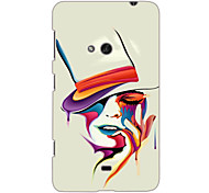 Colorful Woman Design Hard Case for Nokia N625