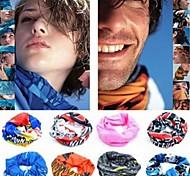 Bandana Bike Cycling,Cycling Polyester Outdoor Sport Riding Cycling Magic Dustproof Warm Face Towel Collar Kerchief (Random Color