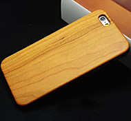 Natural Cherry Wood Luxury Hard Cover Case for iPhone 6