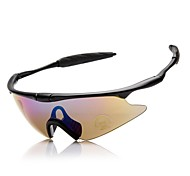 Sunglasses Men / Women / Unisex's Classic / Sports / Fashion / Sunglass Style Wrap Yellow / Gray / Transparent Cycling Half-Rim