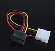 4-pin IDE al adaptador de cable de la computadora serial sata hdd sata