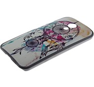 Wind Chimes Pattern PC Hard Case and Phone Holder for Motorola MOTO G2