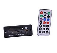 "CT08E 1.5"" LCD MP3 Player Module w/ FM / USB / TF / 3.5mm Jack / Remote Controller - Black (12V)"