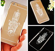 Hand Pattern Hard Back Case for iPhone 6 Plus