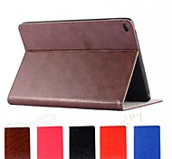 Solid Color High Quality Real Leather Full Body Case for iPad Air 2 (Assorted Colors)