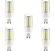 5 stuks G9 10 W 48 SMD 5730 1000 LM Natuurlijk wit T Maïslampen AC 220-240 V