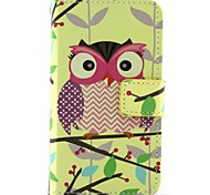 Cut Owl Pattern Full Body Cases for iPhone 4/4S
