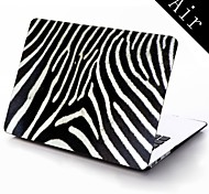 Zebra-Stripe Design Full-Body Protective Plastic Case for 11-inch/13-inch New Mac Book Air