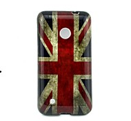 For Nokia Case Pattern Case Back Cover Case Flag Soft TPU Nokia Nokia Lumia 530